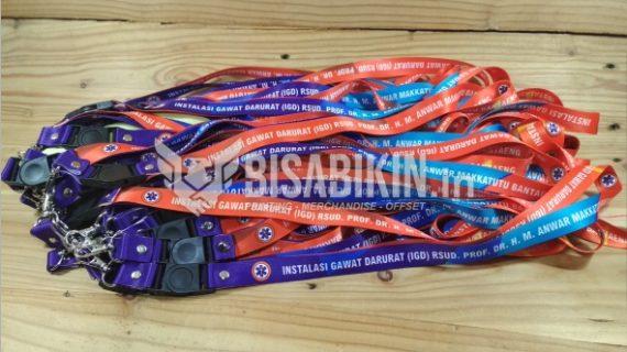 Distributor Bikin Lanyard Paling Rekomendasi di Jogja