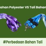 Perbedaan Tali ID Card Polyester dan Tisue