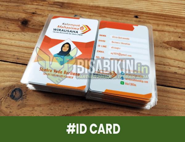 desain id card mahasiswa