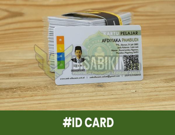 id card pelajar