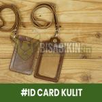 Jasa Cetak ID Card Kulit Jogja