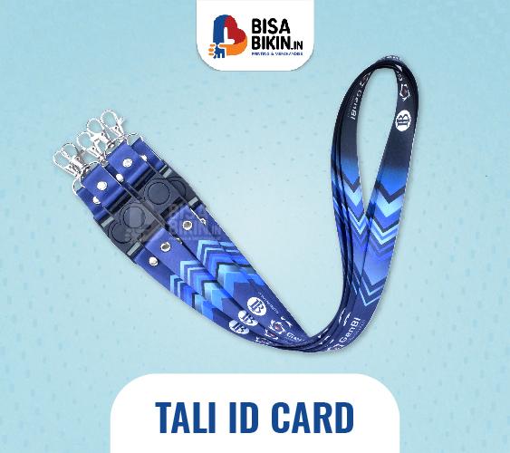 cetak tali id card keren