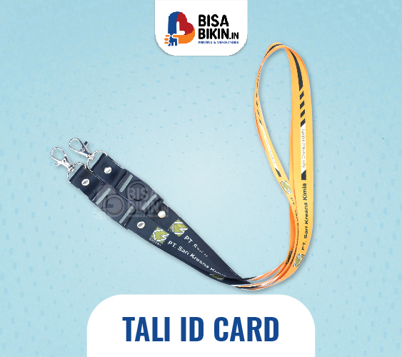 desain tali id card keren